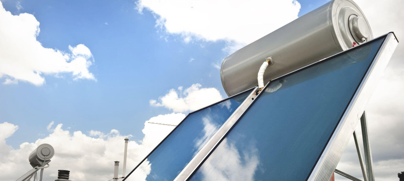 Slider solare termico